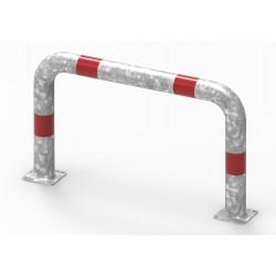 Odbojnica liniowa, średnica rury 60,3 mm - wysokość 600mm, szerokość 1000mm